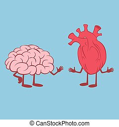 coeur, cerveau