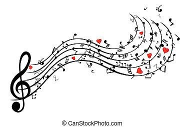 coeur, chanson