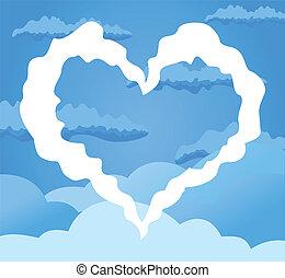 coeur, ciel
