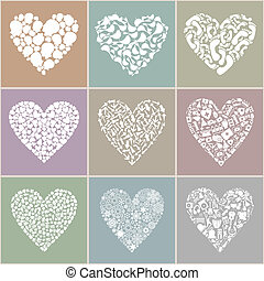coeur, collection