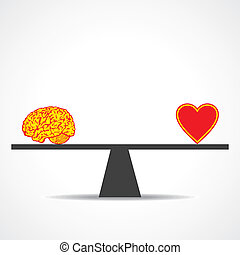 coeur, comparer, esprit