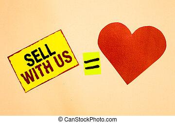 coeur, concept, texte, signe jaune, papier, vendeur, électronique, vendre, écriture, regarder, plate-forme, ligne, rappel, rouges, vente, commerce, signification, envoi, romantique, us., égal, feelings., écriture, morceau