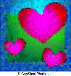 coeur, conception