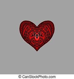 coeur, décoratif