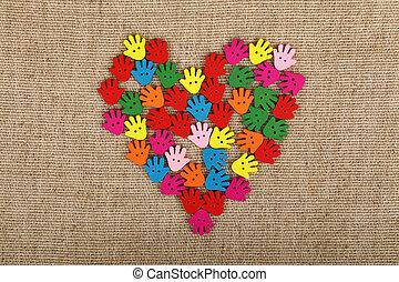 collage coeur peinture coeur autour de cr collage images de stock rechercher des. Black Bedroom Furniture Sets. Home Design Ideas