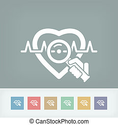 coeur, examen médical