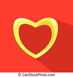 coeur, fond