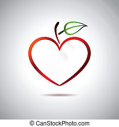 coeur, fruit