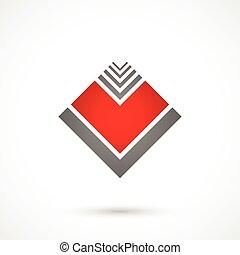 coeur, géométrique
