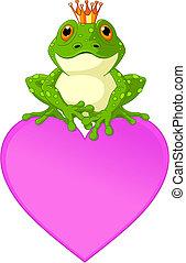 coeur, grenouille