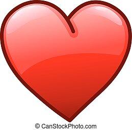 coeur, icône