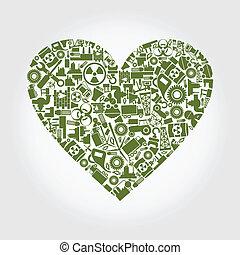 coeur, industrie