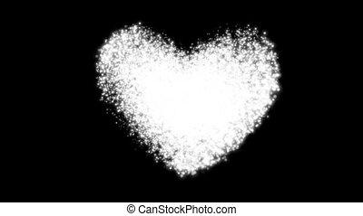 coeur, -, jour, sacré, valentin