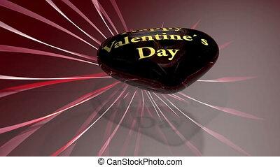 coeur, -, jour, valentine