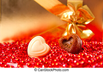 coeur, jour, valentine
