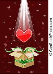 coeur, mon, cadeau, vous, donner