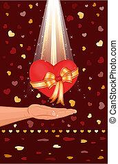 coeur, mon, vous, donner