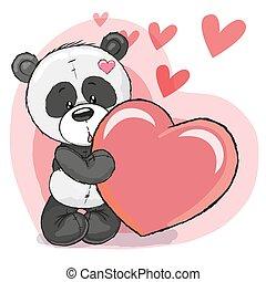 coeur, panda