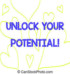coeur, photo, potential., signe, ouvrir, education, ton, ...