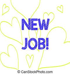 coeur, photo, signe, job., emploi, dehors, modèle, santé, ...