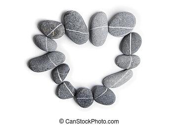 coeur, pierre, art