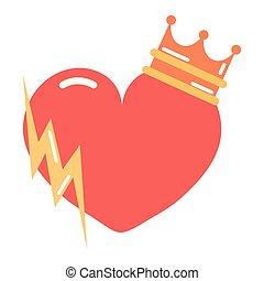 coeur, puissance fille