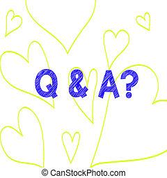 coeur, questions, photo, signe, autre, dehors, demande, ...