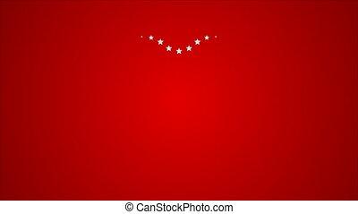 coeur, résumé, animation, étoile, vidéo
