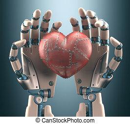 coeur, robot