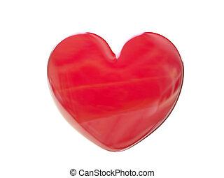 coeur, rouges