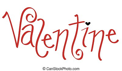 coeur, rouges, valentin