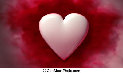 coeur saignement, boucle