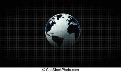 coeur, sain, cardiogramme, gens., 66., planète