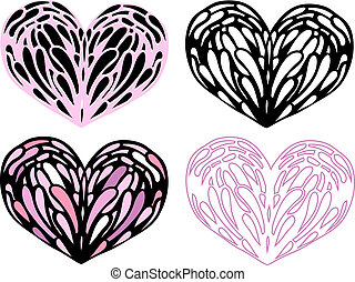 coeur, set., illustration