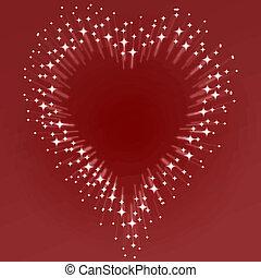 coeur, starburst