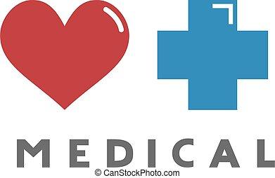 coeur, symbole, monde médical
