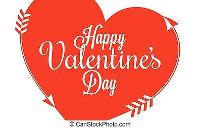 coeur,  valentines, frontière, jour, fond