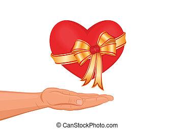 coeur, vous, mon, donner