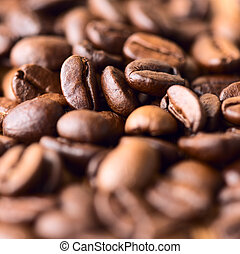 Cofee beans - Coffee beans close up
