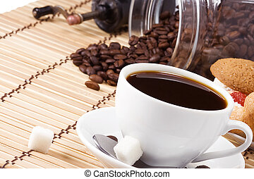cofee, dulces, frijoles