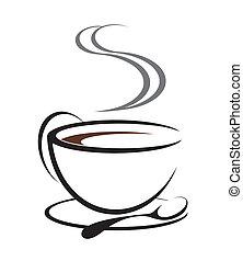 cofee, illustrazione