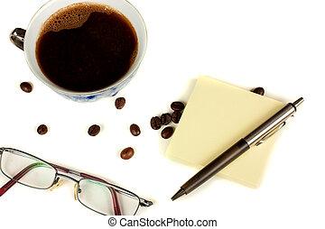 coffe, ガラス