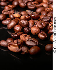 Coffe beans! - Coffee beans close up