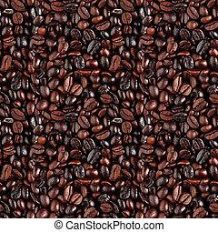 coffe, seamless, achtergrond