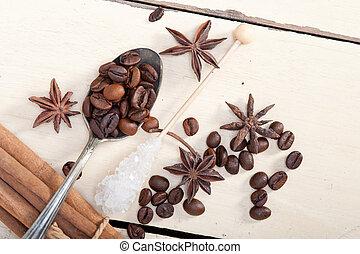 coffe sugar and spice