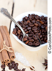 coffe sugar and spice