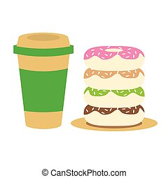 Coffee and Donuts.