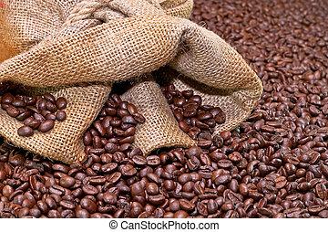 Coffee and sack