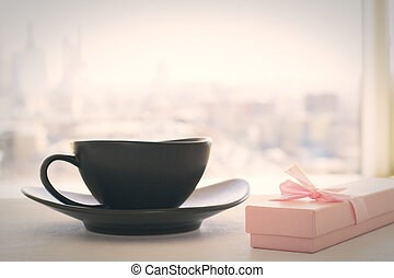 Coffee and small present