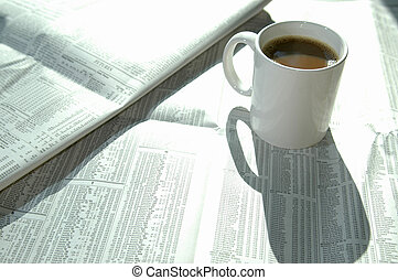 coffee and stock chart 2